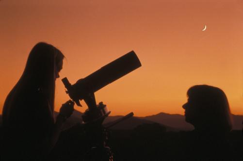 Stargazing in Asheville