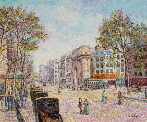 Russell Collection Pissarro Exhibition, 2014.
