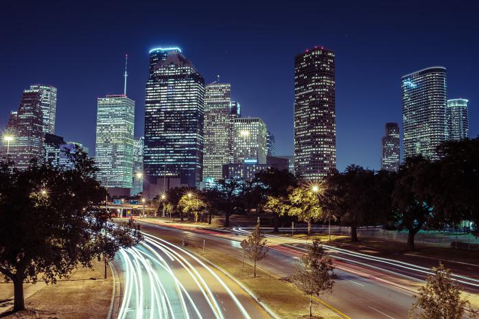 Downtown Skyline of Houston