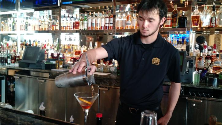 Bartender at Country Club at Golden Nugget