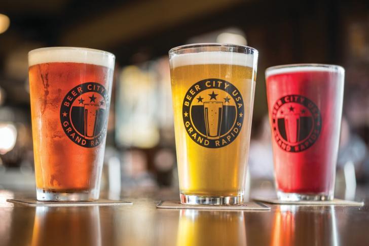 Beer City, USA Pint Glass