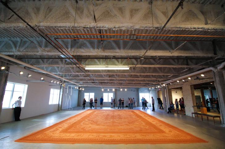 Red Dirt Rug Monument by Rena Detrixhe