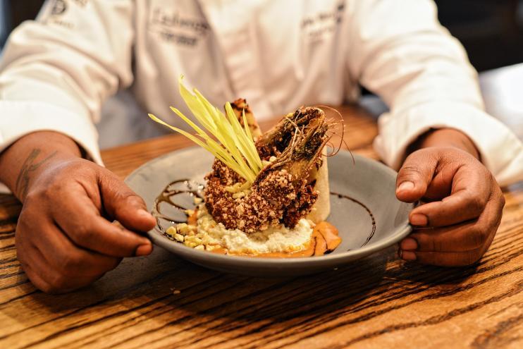 Chef Lyle Broussard Shrimp