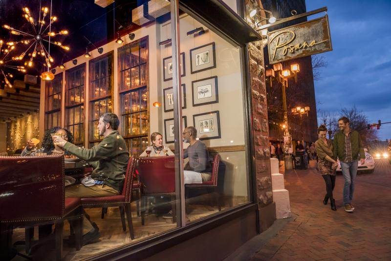 Dining in Downtown Asheville