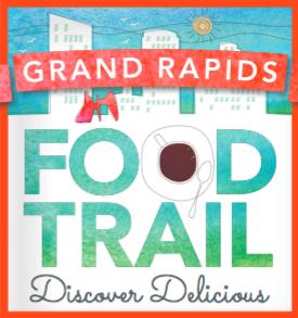 Grand Rapids Food Trail logo