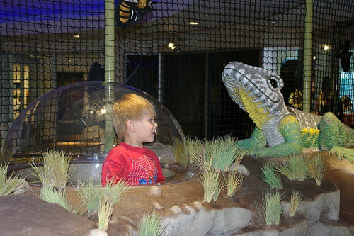Child at discovery center
