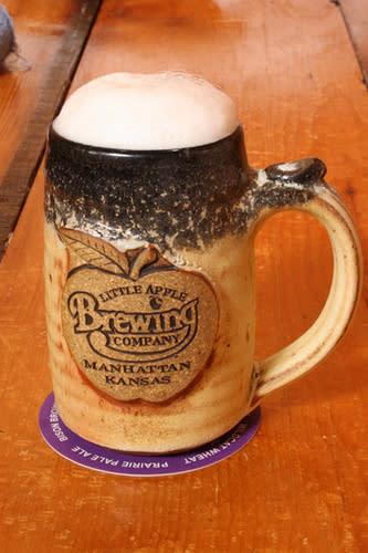 Mug at Little Apple Brewery