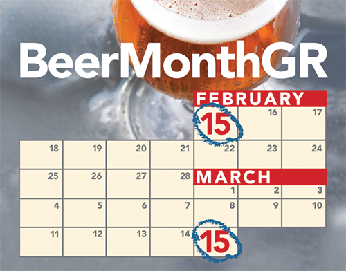 Beer Month GR Calendar