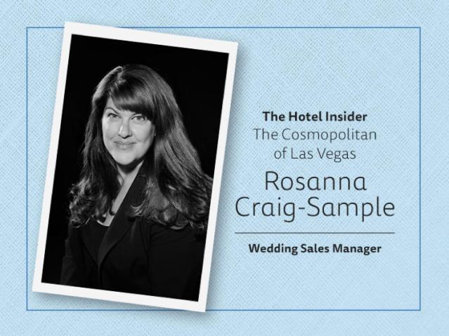 Rosanna Craig-Sample Cosmopolitan Wedding Sales Manager Logo