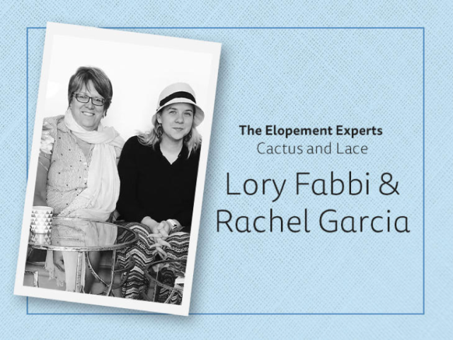 Lorey & Rachel Elopement Experts Logo