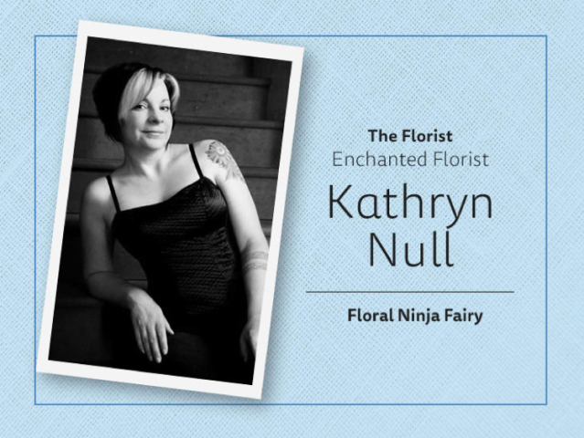 Kathryn Null Florist Logo
