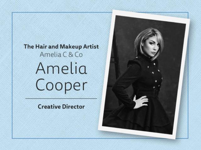 Amelia Cooper Hair & Makeup Artist Logo