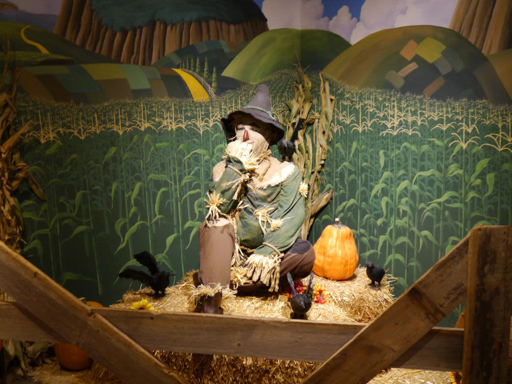 Of course there's a museum dedicated to the Wizard of Oz in Kansas!