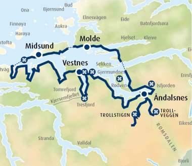 Turforslag Med Bil Andalsnes Og Trollstigen