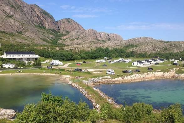 Torghatten Camping   Camping     Norway