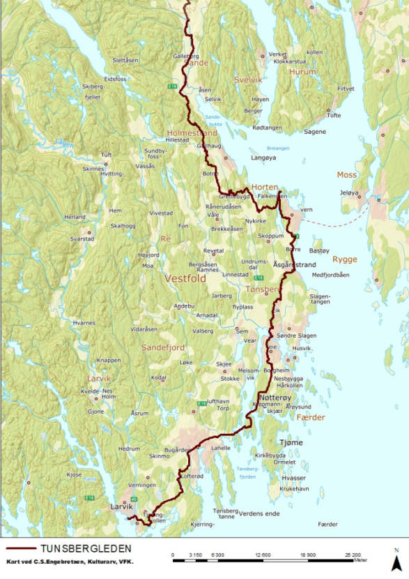 The Pilgrim Paths In Vestfold