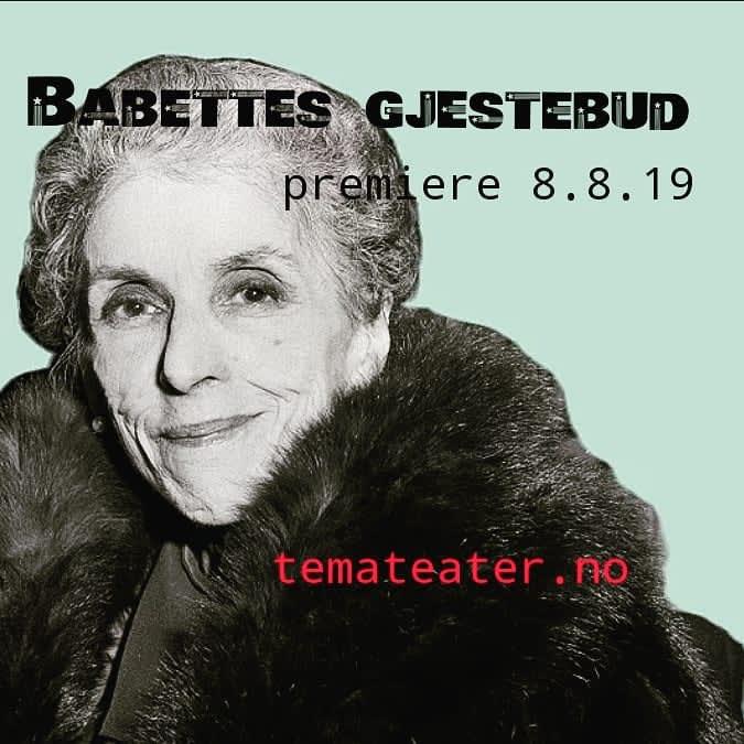 82fa6605 Babettes gjestebud, premiere
