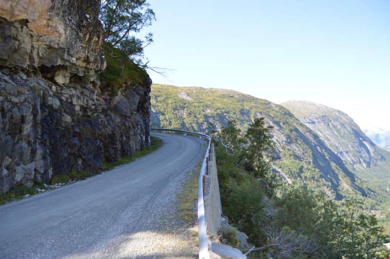 aursjøvegen mountain road