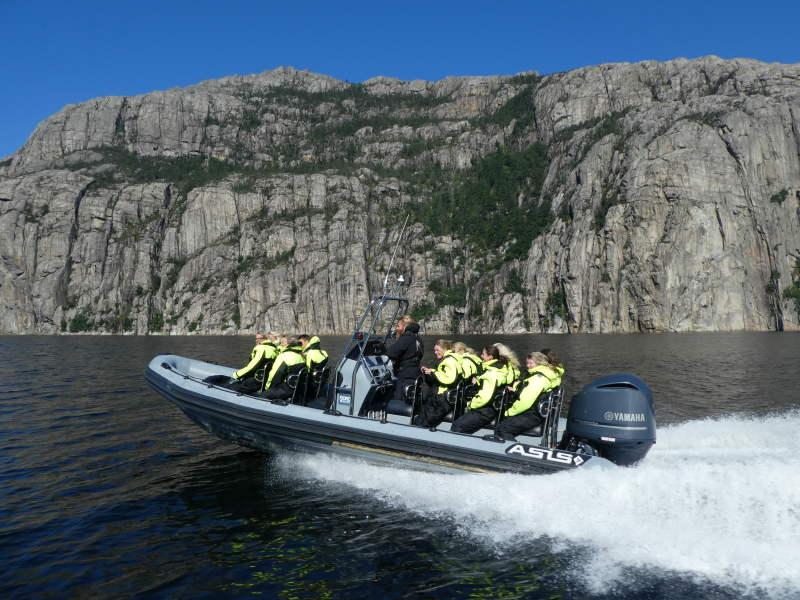 3bbe6fca9 Lysefjordsafari, premium, hele fjorden