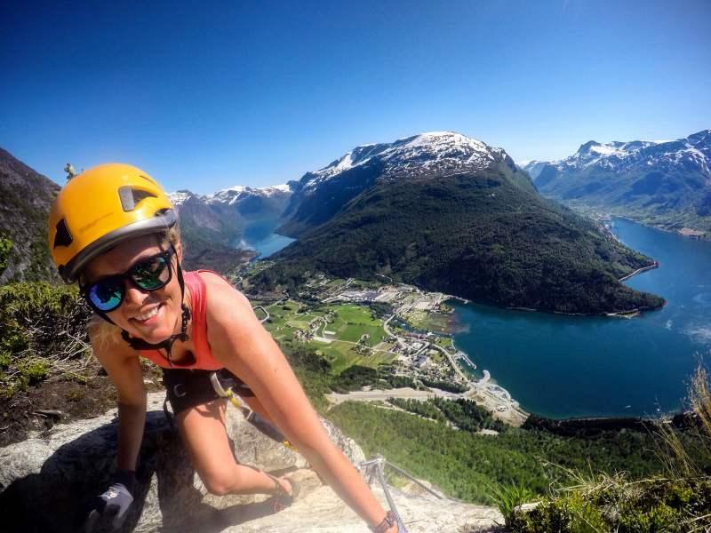 Klettersteig Near Me : Klettersteig in loen via ferrata