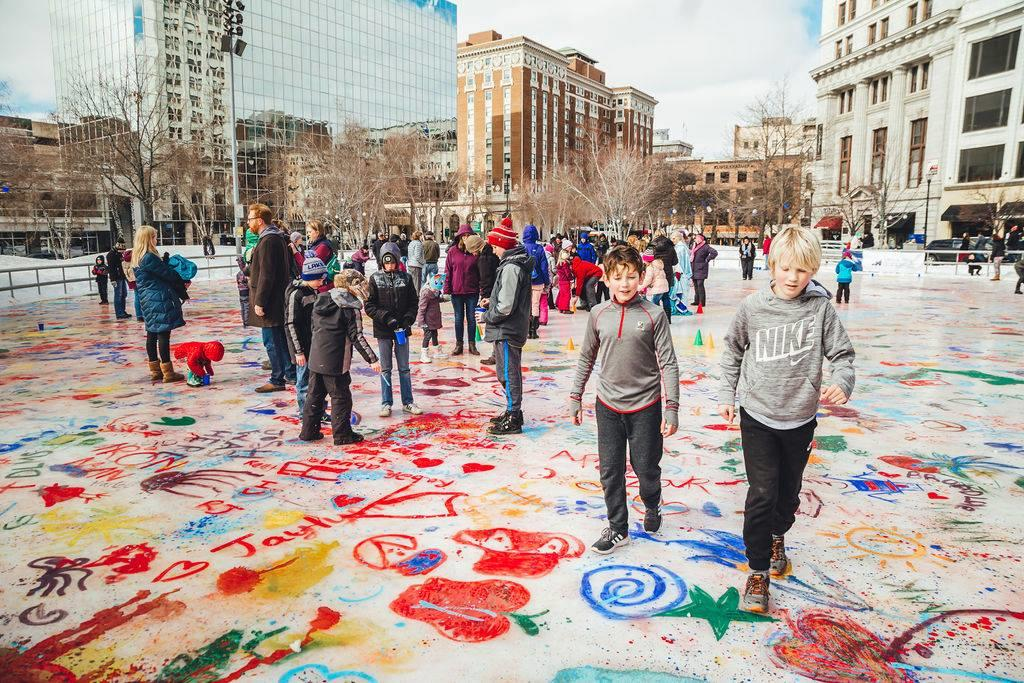Paint the Park   Downtown in Grand Rapids, MI