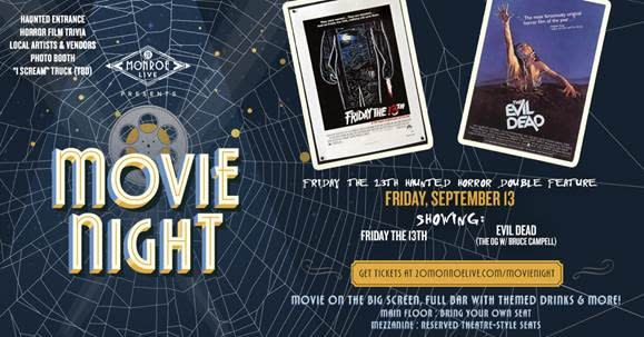 Friday The 13th Haunted Horror Double Feature | Fall Harvest/Halloween in Grand Rapids, MI