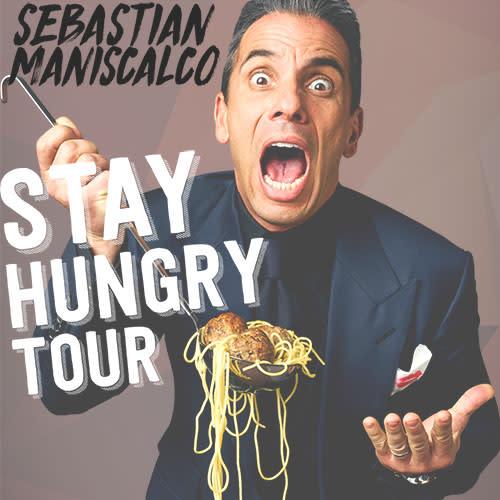 Sebastian Maniscalco: Stay Hungry   Theatre/Performing Arts in Grand Rapids, MI