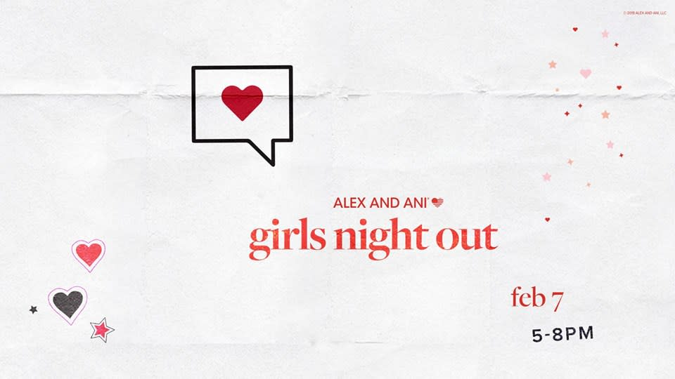 ALEX AND ANI Girls Night Out with Guest Bartender Jesse Hedberg