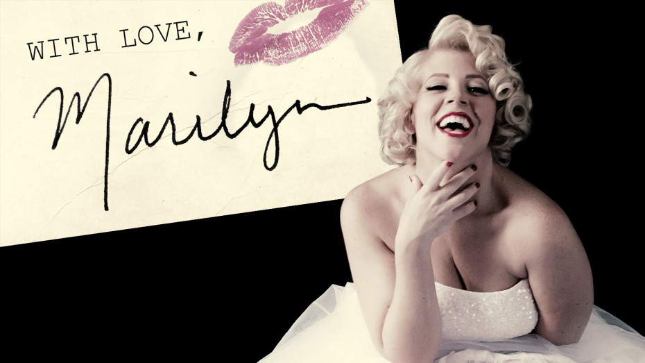 With Love Marilyn, The Life of Marilyn Monroe by Erin Sullivan