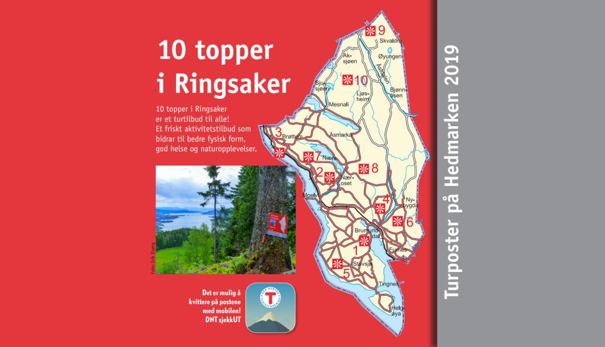 10 Toppturer I Ringsaker