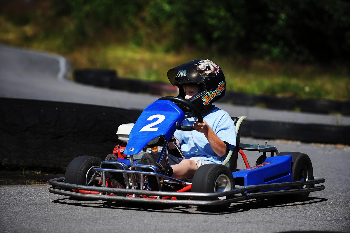 Go Kart Track In Evje