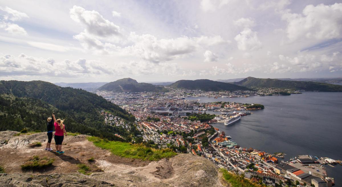 klima bergen norwegen