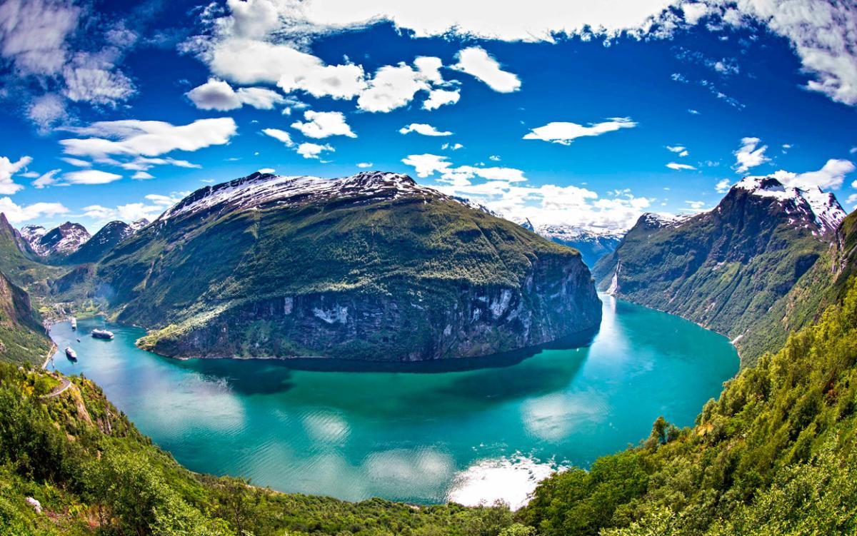 Fjord Cruise Geirangerfjord | Sightseeing | Geiranger | Norway