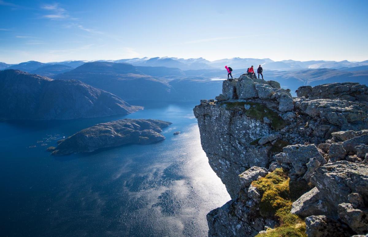 Hornelen - Europes highest sea cliff