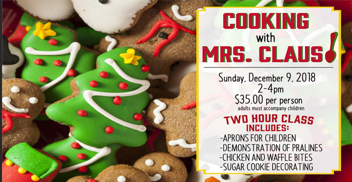 cooking with mrs claus