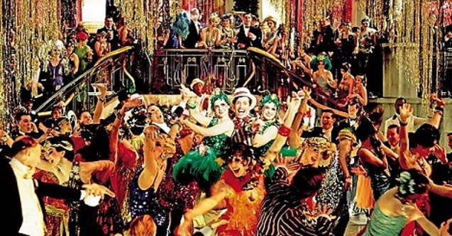 New Year's Eve - Gatsby Style