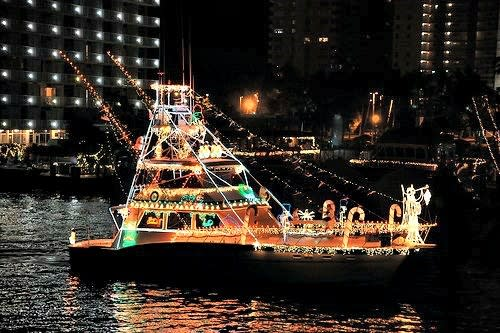 Illuminated Boat Parade Viewing Party