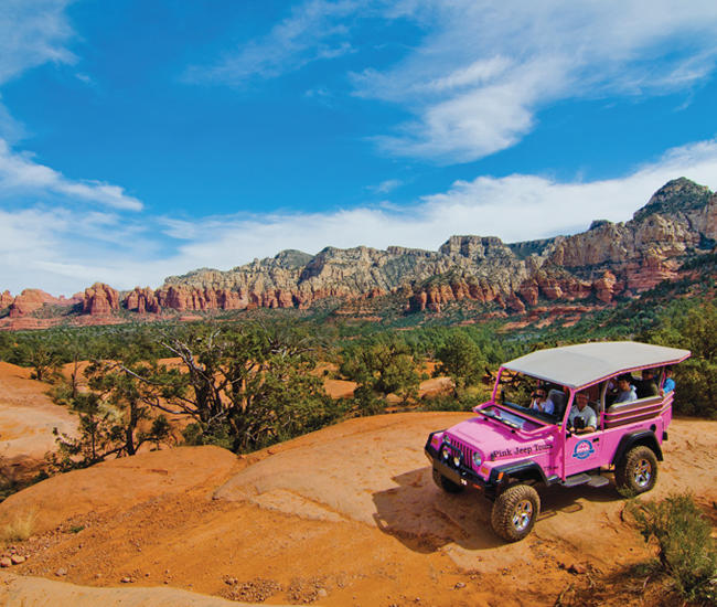Pink Jeep Tours Meeting Planner