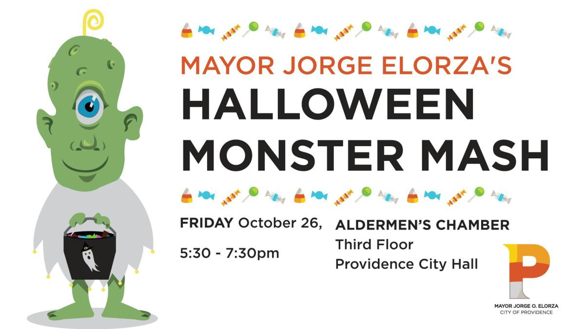 Mayor Jorge Elorza's Halloween Monster Mash