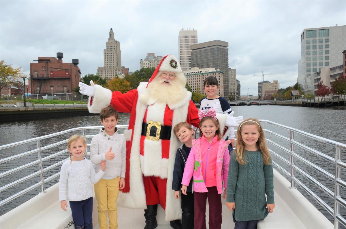 Boat Rides With Santa