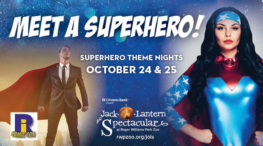 Superhero Nights at the Jack-O-Lantern Spectacular