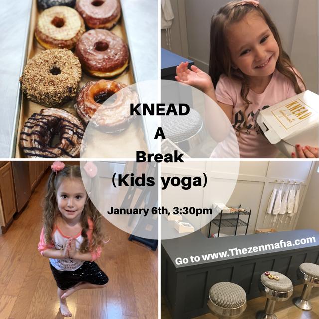 Knead a Break Kids Yoga