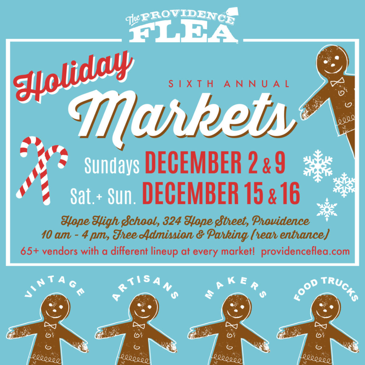 Providence Flea Holiday Markets