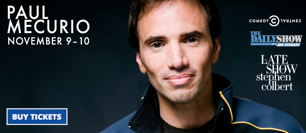 Paul Mecurio From the Daily Show & more!