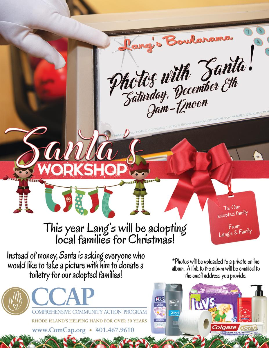 2nd Annual Santa's Workshop Shopping Event & Pictures with Santa