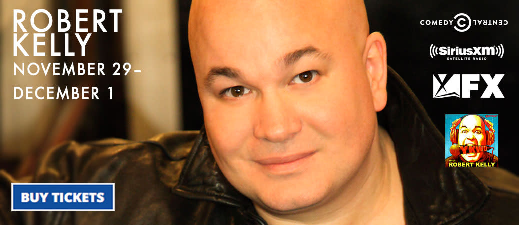 Robert Kelly from Comedy Central & more!