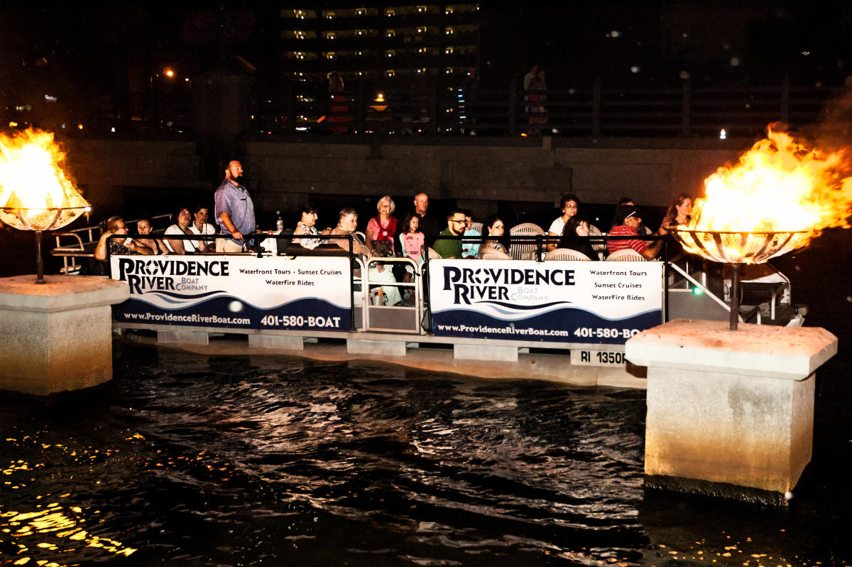 Waterfire Boat Rides