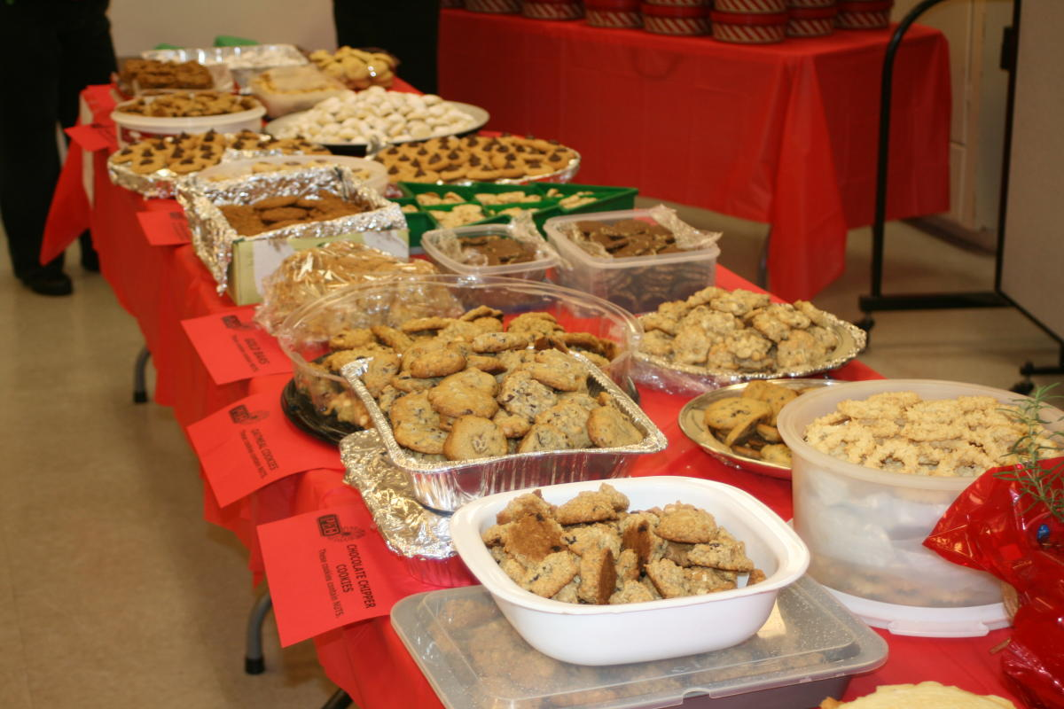 Yuletide Yummies Cookie Walk and Holiday Fair