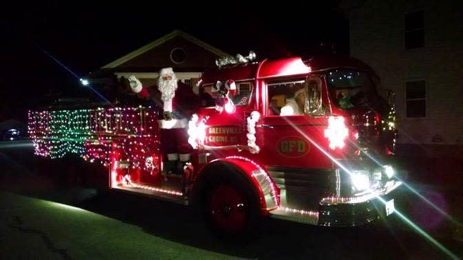 Smithfield's All Lit Up Christmas Parade