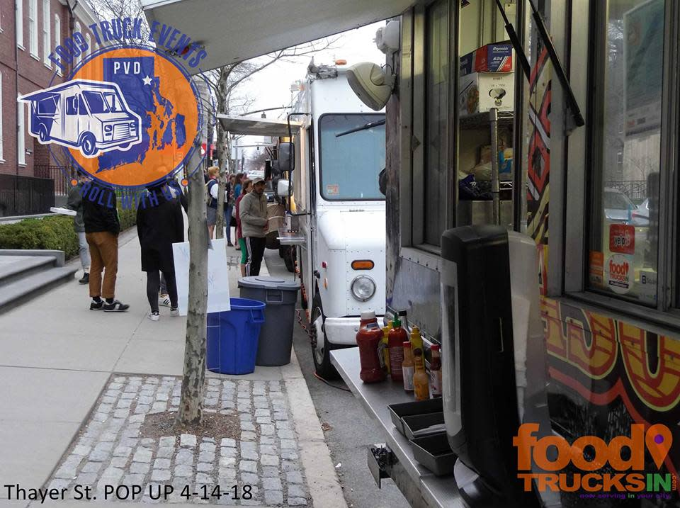 Food Trucks on Thayer Street